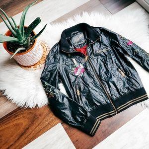 Ed Hardy bomber jacket